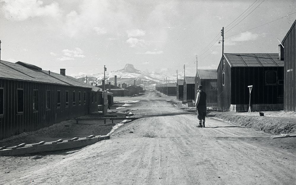 Heart Mountain Barracks