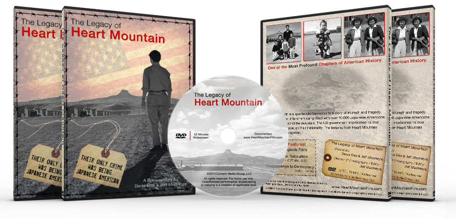 Legacy of Heart Mountain-DVD